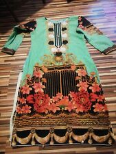 LADIES GIRLS / TEENS ALL IN ONE INDIAN TUNIC ETHNIC TRIBAL DRESS / TOP SIZE 6 8