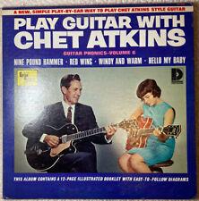 Play Guitar With Chet Atkins Vinyl LP w/ Booklet Vol 6 Dolton VB1