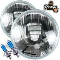 "Classic Triumph Xenon Halogen 7"" Quadoptic Conversion Headlight Upgrade Kit"