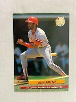 Ozzie Smith St Louis Cardinals 1992 Fleer Baseball Card 271