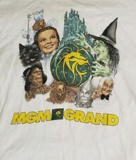 Vintage MGM Wizard of OZ Promotional Graphic T shirt 2000 RARE XL Bling