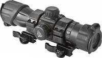 "UTG 6.4""  SHOTGUN Red/Green Dot Sight Quick Detach Mount & Flip-open Lens Caps"