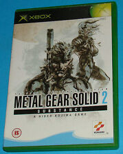 Metal Gear Solid 2 - Substance - Microsoft XBOX - PAL