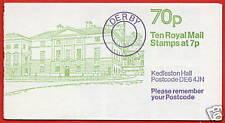 FD7a Kedleston Hall LM 70p Folded Booklet