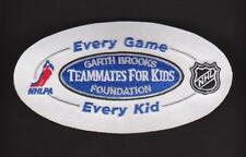 NHL Garth Brooks foundation every game every kid teammates for kids patch