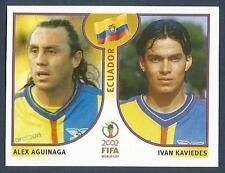 PANINI KOREA/JAPAN WORLD CUP 2002- #519-ECUADOR-ALEX AGUINAGA / IVAN KAVIEDES