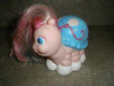 Vintage Tonka Keypers Toy Pink & Blue Turtle Sheldon Figure 80's