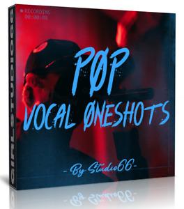 POP Vocal One Shots 1500 Wav Samples for Ableton, FL Studio Bitwig Cubase Logic