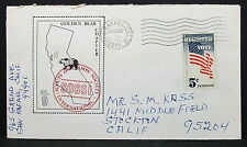US Illustrated Cover San Rafaelo Bear Sossi Vote Stamp 5c USA Brief (H-7230