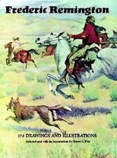 Frederic Remington: 173 Drawings and Illustrations-ExLibrary