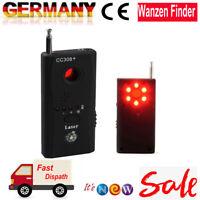 Signal Detektor Versteckte Kamera GPS GSM Aufspürgerät Wanzen Finder Tracker