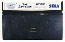 Sega Master System The Simpsons - Bart Vs. The Spazio Mutanti Acclaim Pal