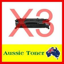 3x CE505A Black Toner Cartridge for HP 05A Laserjet P2035,P2035N,P2055