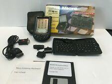 Palm Pilot Pda N10996 with Power Supply and Micro Foldaway Portable Keyboard