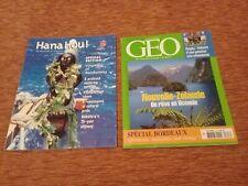 Geo Magazine (2005) & Hana Hou! magazine (2000, Hawaiian Airlines)