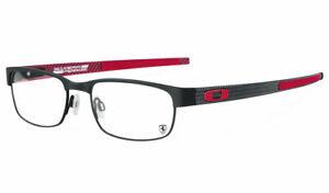Eyeglasses Carbon Plate Black Ferrari Red (0455) Oakley Frames