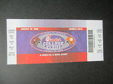 2008 College Kickoff Game Alabama  Clemson Football Ticket Official Reproduction