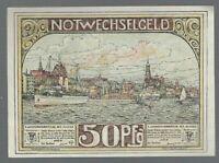 Notgeld -  Hamburg - Verein Hamburger Gastwirte - 50 Pfennig - 1921 - Bild 2