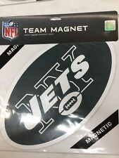 NFL NEW YORK JETS  MAGNET NEW IN PACKAGE CAR MAGNET 14""