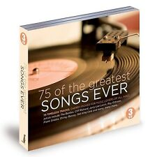 Various Artists : 75 of the Greatest Songs Ever - Volume 1 CD (2015)