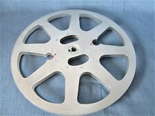 SUPER-8-LEERSPULE 360 METER + mehr NEUWERTIG ALUMINIUM KINO-FILMSPULE REEL 31 cm