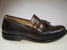 Johnston & Murphy Men's 10W Signature Series Italian Leather Tassel Loafers