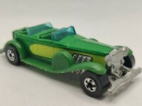 Vintage 1976 Hot Wheels 31 Doozie Toy Car Green Diecast Mattel Hong Kong