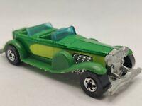 Vintage 1976 Hot Wheels 31 Doozie Toy Car Green Diecast Mattel Hong Kong