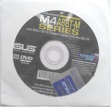 original asus Mainboard Treiber CD DVD M4A88T-M USB3 Windows 7 Vista WIN XP