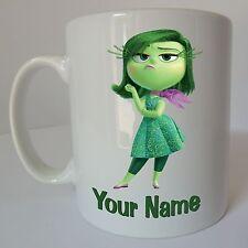 Inside Out Disgust Personalised Name Disney Mug Birthday Christmas Gift Present