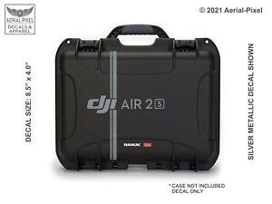 DJI Air 2S Drone Case Decal  for Nanuk Pelican GoProfessional GPC & More Mavic
