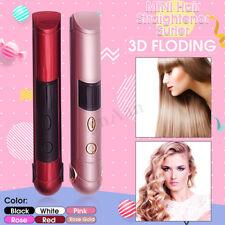 USB Hair Straightener Curler Crimper Roller LED Ceramic Wave Wand Waterproof
