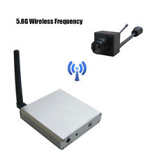 Small hidden 5.8g mini wireless camera and receiver TV monitor for baby
