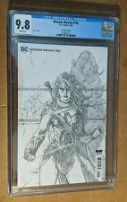 Wonder Woman #750 1st Print 1:100 Jim Lee Sketch Variant  CGC 9.8 NM+/M