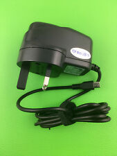 Black AC 100 240v to DC 5v Micro USB UK Plug Mains Wall Charger CE Approved UK