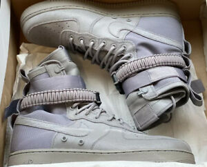 Nike Special Forces Air Force 1 QS SF AF1 Grey Dust Size 11.5 903270-001
