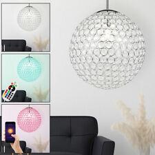 Smart LED Luz Techo Cristal Control Remoto RGB Bola Lámpara Colgante App Dimmer