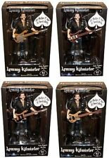 "(COLLECTORS) Motorhead Lemmy Kilmister 6"" Action Figures w/ 4 Different Basses"