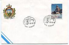 1991-11-13 San Marino Natale '91 ANNULLO SPECIALE Cover