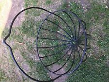 Wrought iron garden planter *USED/GOOD CONDITION* plastic coated