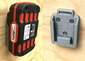 Parkside X 20V Battery Wall / Undershelf Mount Holder for Workshop / Van (Qty:1)