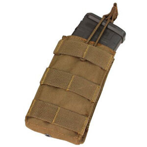 Condor Single 5.56 Open Top Magazine Pouch - Coyote - MA18-498