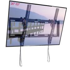 """Flat Tilt TV Wall Mount Bracket Holder 26 32 37 40 42 46 47 50 55"""" Inch LCD LED"""