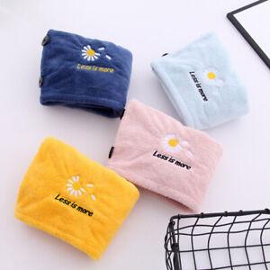 Lady's Soft Head Wrap Hat Magic Dry Hair Cap Makeup Cosmetics Bath Towel Drying