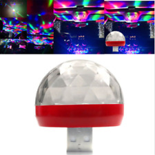 Useful Car Interior Atmosphere Neon Lights Colorful LED USB RGB Decor Music Lamp