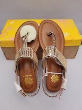 aa636098d8df0 Womens Yellow Box Danae Thong Sandals Size 5 1 2