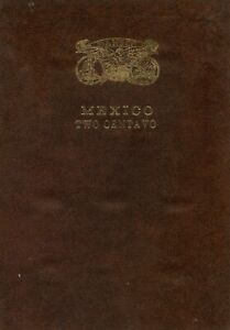 HARD TO FIND DANSCO Folder Mexico 2 Centavo