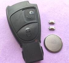 Mercedes 2 button Remote key case Fob SPRINTER C S E Class CLK SLK Repair Kit