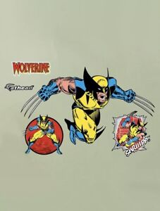 Original FATHEAD Wolverine Wall Decal Sticker 96-96018 NEW
