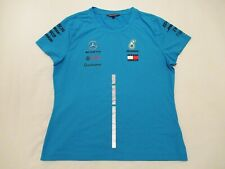 Mercedes AMG F1 Tommy Hilfiger team issue shirt sz XL 2018 Hamilton Bottas